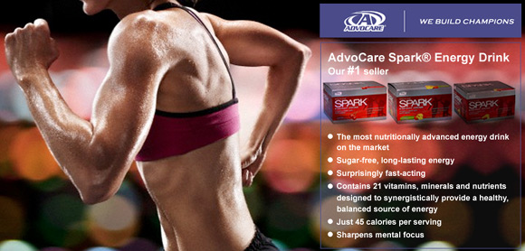 Advocare Spark Low Sugar Mental Focus Energy Drink