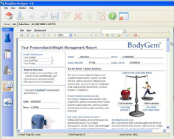 BodyGem Analyzer Software